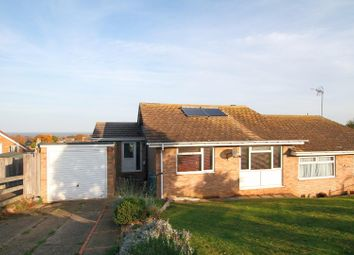 Thumbnail 3 bed semi-detached bungalow for sale in Kingfisher Close, Seasalter, Whitstable