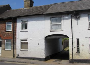 Thumbnail 2 bed terraced house to rent in Poplars End, Park Road, Toddington, Dunstable