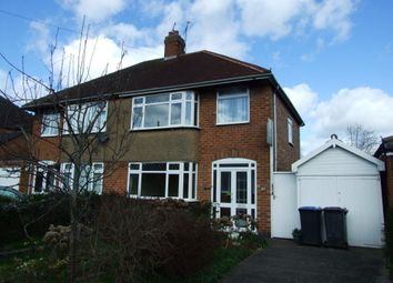 Thumbnail 3 bed property to rent in Elms Drive, Rugby