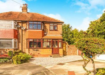 Thumbnail 3 bed semi-detached house for sale in Peelgate Drive, Heald Green, Cheadle