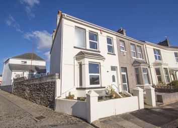 Thumbnail 3 bedroom end terrace house for sale in Ingra Road, Higher Compton, Plymouth