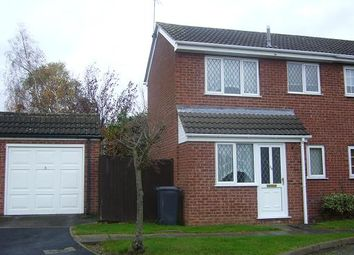 Thumbnail 1 bed semi-detached house to rent in Eastfield Road, Thurmaston