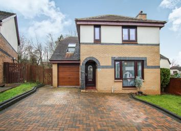 Thumbnail 4 bedroom detached house for sale in Oak Fern Drive, Glasgow