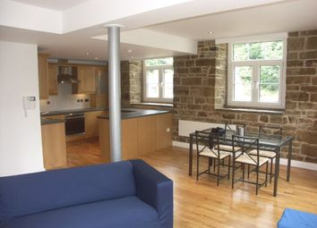 Thumbnail 2 bed flat to rent in Sheffield Road, New Mill, Holmfirth