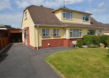 Thumbnail 3 bed semi-detached house for sale in Manor Drive, Kingskerswell, Newton Abbot, Devon.