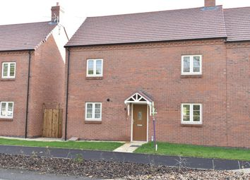 Thumbnail 2 bed semi-detached house for sale in Saltway, Hanbury
