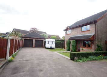 Thumbnail 4 bed detached house for sale in Maden Close, Wymondham