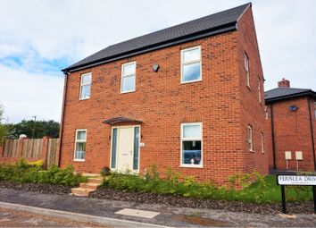 Thumbnail 4 bed detached house for sale in Fernlea Drive, Linton, Swadlincote