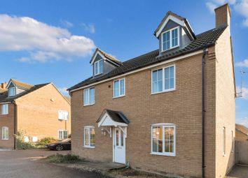 Thumbnail 4 bedroom detached house for sale in Marketstede, Hampton Hargate, Peterborough