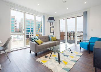 Thumbnail 2 bed flat to rent in Shackleton Way, Royal Albert Wharf, London
