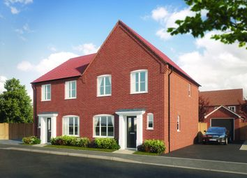 Thumbnail 3 bed semi-detached house for sale in Hempstead Road, Holt