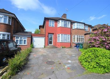 Thumbnail 3 bed semi-detached house to rent in Wolmer Gardens, Edgware