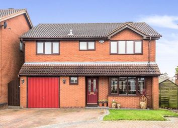 Thumbnail 4 bed detached house for sale in Newlands Court, Cannock, Staffordshire