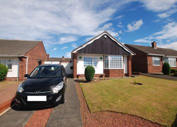 Thumbnail 2 bed detached bungalow for sale in Swinhoe Gardens, Wideopen, Newcastle Upon Tyne