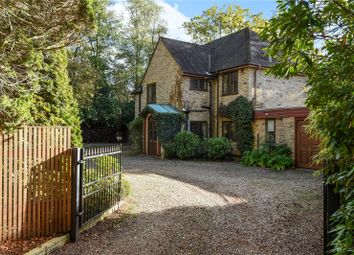 Thumbnail 4 bed detached house to rent in Christchurch Road, Virginia Water, Surrey