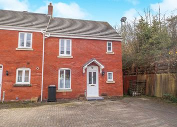 Thumbnail 3 bedroom end terrace house for sale in Medley Court, Exeter