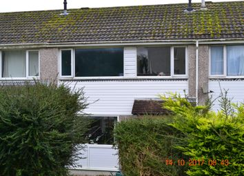 Thumbnail 3 bed terraced house to rent in Rapson Road, Liskeard, Cornwall