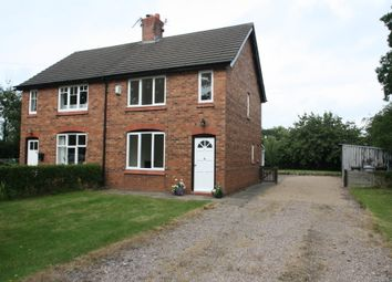 Thumbnail 3 bed semi-detached house to rent in Hall Lane Cottages, Haughton, Tarporley