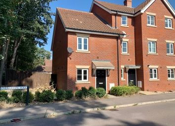 Thumbnail 3 bed semi-detached house to rent in Evergreen Way, Bury St. Edmunds