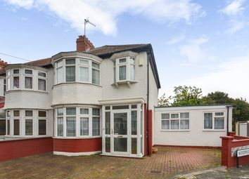 Thumbnail 3 bed semi-detached house for sale in Woodstock Crescent, London