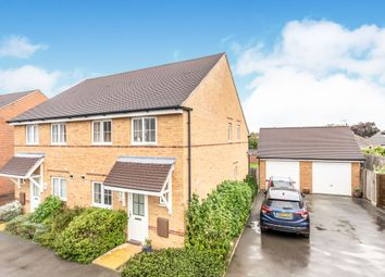 Thumbnail 3 bed semi-detached house to rent in Mill Pond Crescent, Chichester