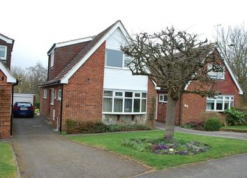 Thumbnail 3 bed detached house for sale in Conway Drive, Shepshed, Loughborough