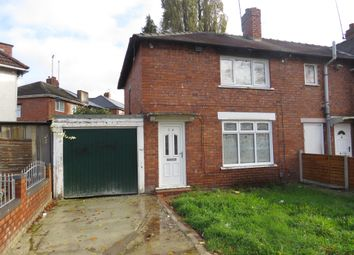 Thumbnail 3 bed semi-detached house for sale in Valley Road, Bloxwich, Walsall