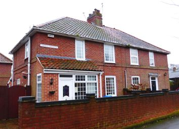 Thumbnail 3 bed semi-detached house for sale in Losinga Crescent, Norwich