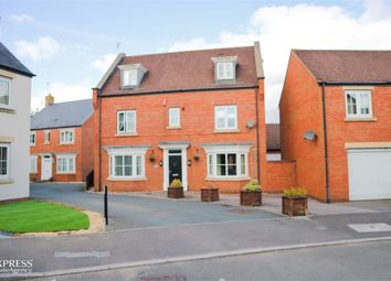 Thumbnail 5 bed detached house for sale in Pathfinder Way, Swindon, Wiltshire