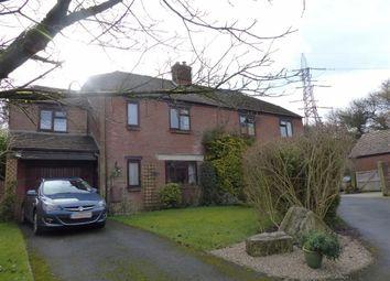 Thumbnail 4 bed semi-detached house for sale in Butt Farm Close, Dorchester, Dorset