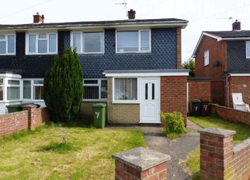 Thumbnail 3 bed semi-detached house for sale in Amble Close, Lincoln