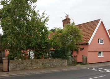 Thumbnail 2 bed cottage for sale in The Street, Bramfield, Halesworth
