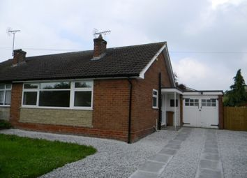 Thumbnail 2 bed bungalow to rent in Broughton Hall Road, Broughton, Chester