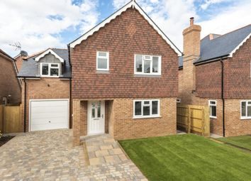 Thumbnail 4 bed detached house for sale in Croft Road, Shinfield