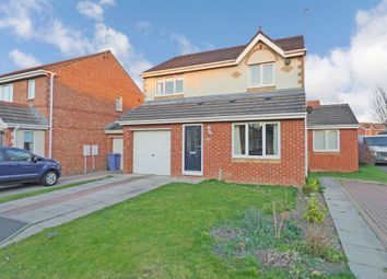 Thumbnail 3 bed detached house for sale in Motcombe Way, Cramlington