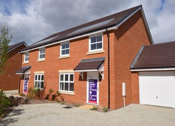 Thumbnail 4 bed semi-detached house for sale in Nugent Close, Church Crookham, Fleet