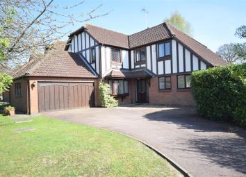 Thumbnail 4 bedroom detached house for sale in Shires Close, Ashtead