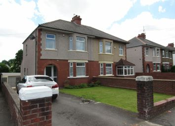 Thumbnail 3 bedroom semi-detached house for sale in Cowbridge Road West, Ely, Cardiff