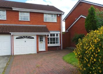 Thumbnail 3 bed semi-detached house for sale in St Simons Close, Sutton Coldfield, West Midlands