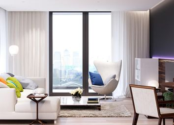 Thumbnail 3 bed flat for sale in Ballymore, Brand New, Royal Wharf, London