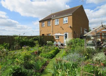 Thumbnail 2 bed semi-detached house for sale in Chapel Lane, Turves, Peterborough