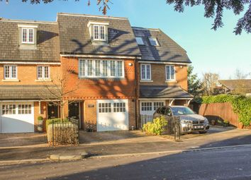 Thumbnail 4 bed terraced house for sale in Sovereign Place, Queens Drive, Thames Ditton