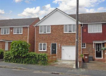 Thumbnail 3 bed end terrace house for sale in Ellison Way, Rainham, Gillingham, Kent