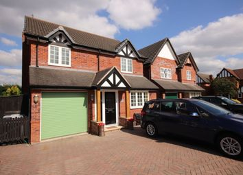 Thumbnail 4 bed detached house for sale in Huntersfield, Shavington, Crewe