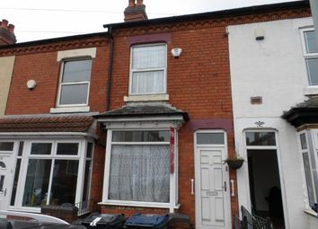 Thumbnail 2 bed terraced house for sale in Towyn Road, Moseley, Birmingham, West Midlands