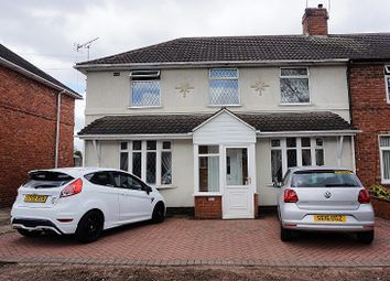 Thumbnail 3 bed semi-detached house for sale in Shaftesbury Street, West Bromwich