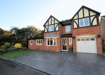Thumbnail 4 bed detached house for sale in Thrift Road, Branston, Burton-On-Trent