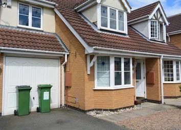 Thumbnail 3 bed semi-detached house for sale in Pendragon Way, Leicester Forest East, Leicester.
