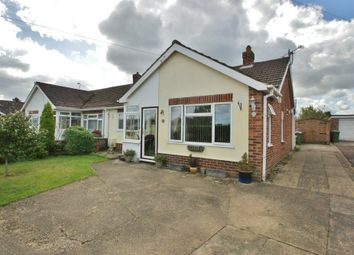 Thumbnail 2 bed semi-detached bungalow for sale in Christine Road, Spixworth, Norwich