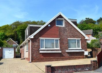 Thumbnail 4 bed detached bungalow for sale in Hendrefoilan Close, Sketty, Swansea